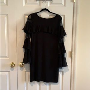 WHBM Black Cocktail Dress
